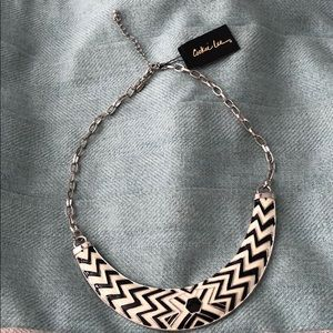 🌸BNWT- Cookie Lee Black & White Necklace🌸